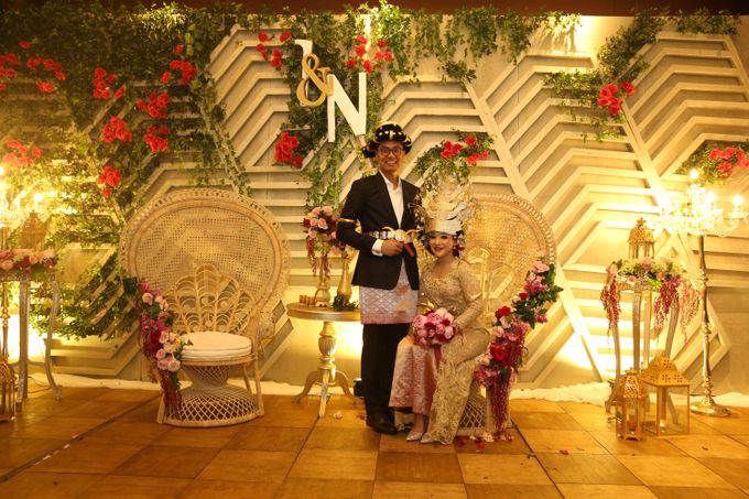 Modern Mandailing Wedding with Video Mapping by Dikaderadjat - 023