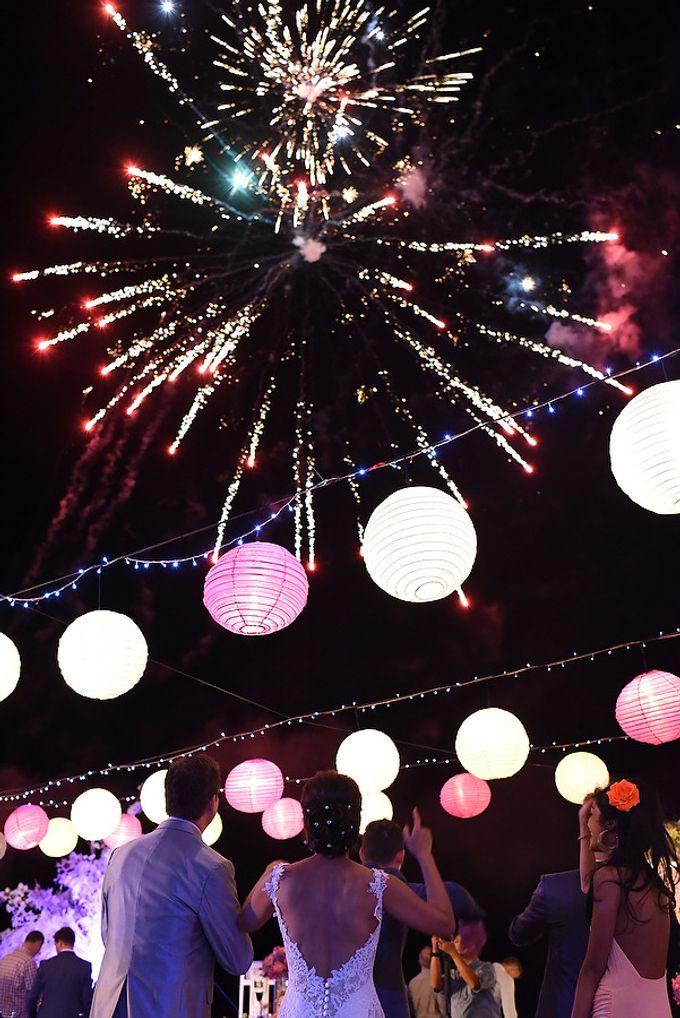 Fireworks by Bali Wedding Entertainment - 003