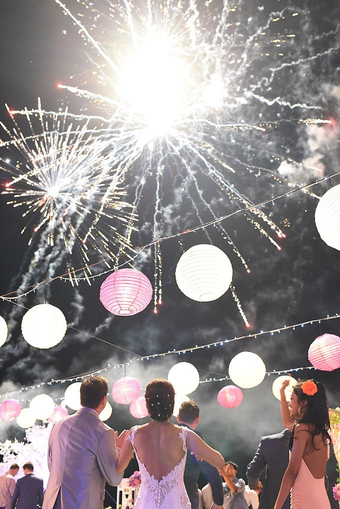 Fireworks by Bali Wedding Entertainment - 004
