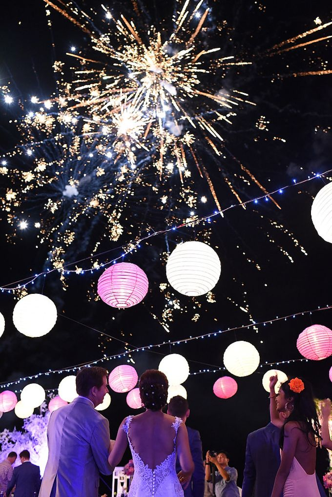 Fireworks by Bali Wedding Entertainment - 006