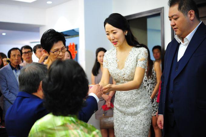 Wedding of Jonathan and Sunghye by Shangri-La Hotel Singapore - 002