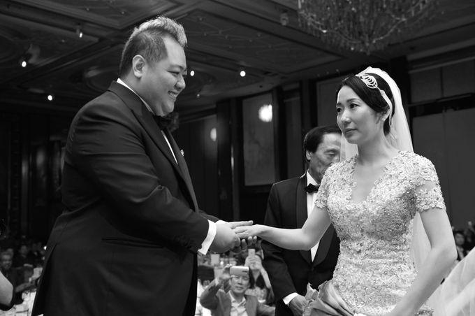 Wedding of Jonathan and Sunghye by Shangri-La Hotel Singapore - 005