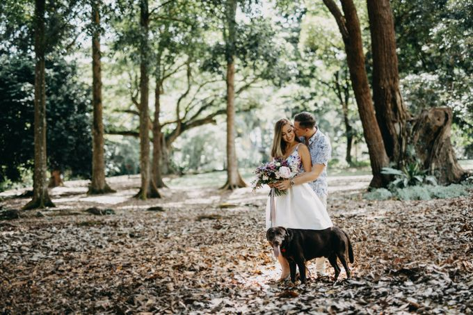 Botanic Gardens Engagement Shoot by Bobby Kiran Photography - 001