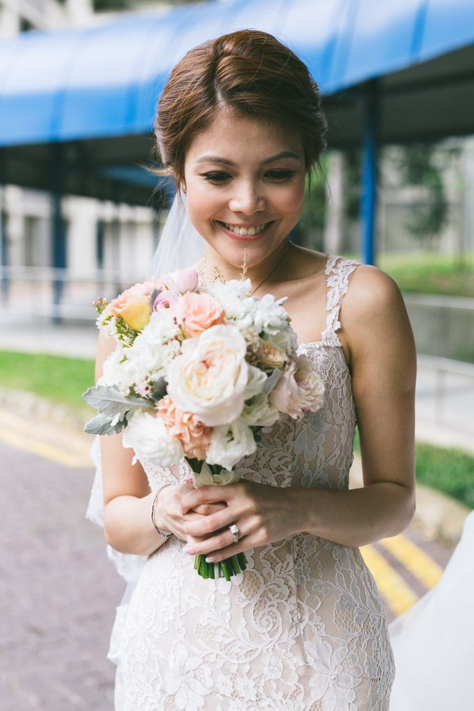 Sheryl and Tong Beautiful Wedding Day by With Every - 002