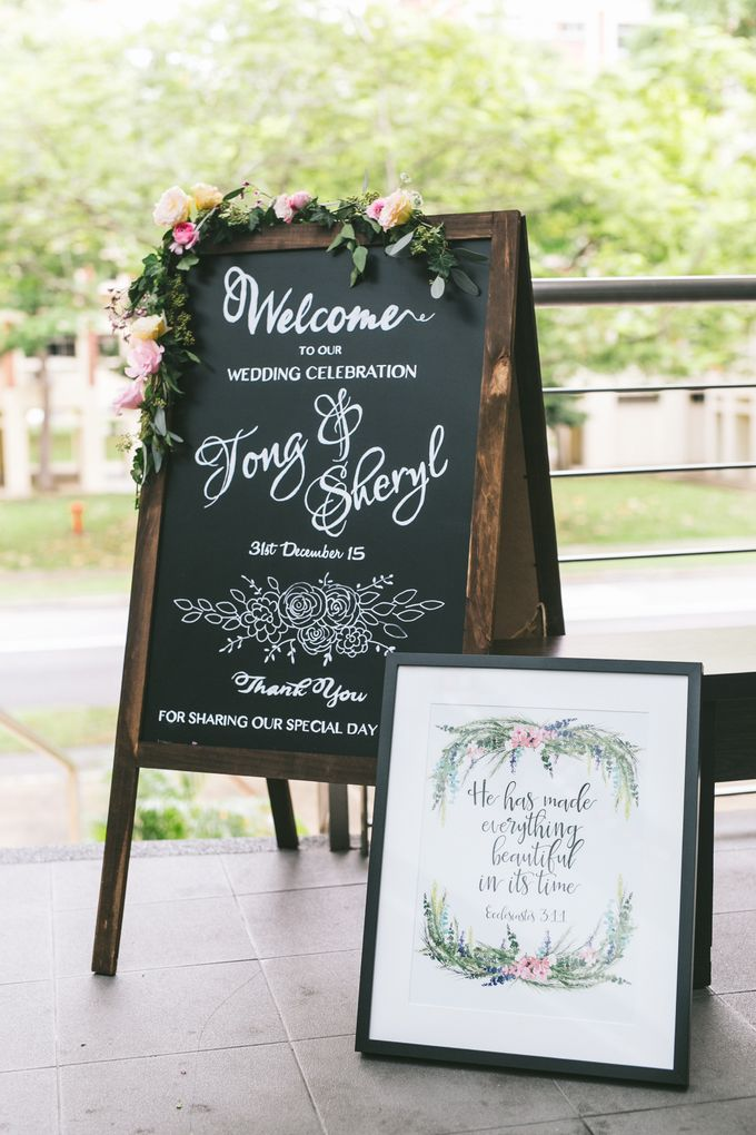 Sheryl and Tong Beautiful Wedding Day by With Every - 001