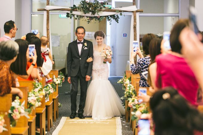Sheryl and Tong Beautiful Wedding Day by With Every - 012