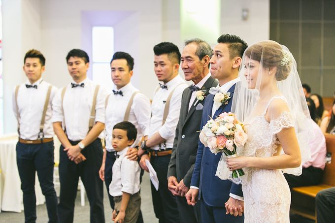 Sheryl and Tong Beautiful Wedding Day by With Every - 013