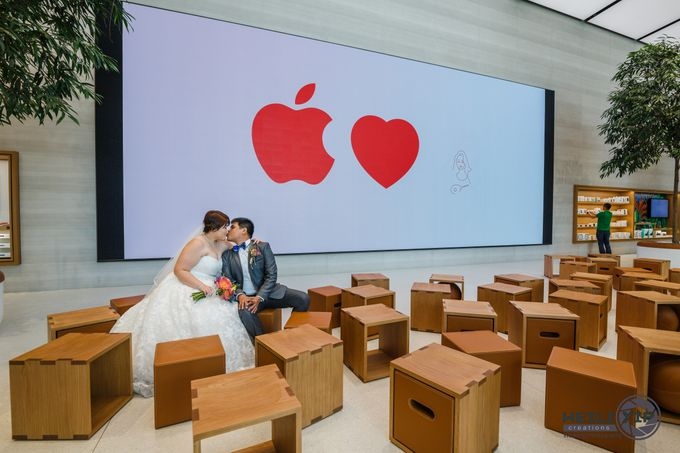 Apple Store - Actual Day Wedding (Suat & Jerymn) by Weili Yip Creations - 002