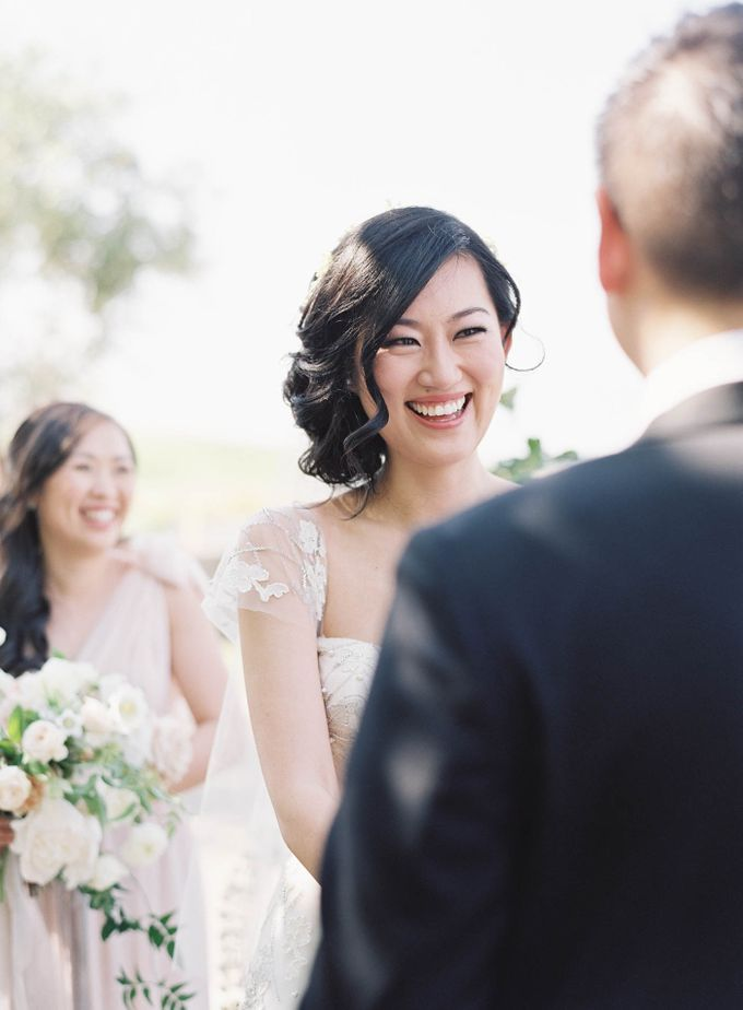 Blue & White Garden Wedding at Carneros Inn by Jen Huang Photo - 029