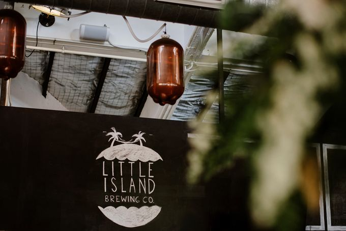 Lovely Industrial Backdrop Styled Shoot by LITTLE ISLAND BREWING CO. - 001