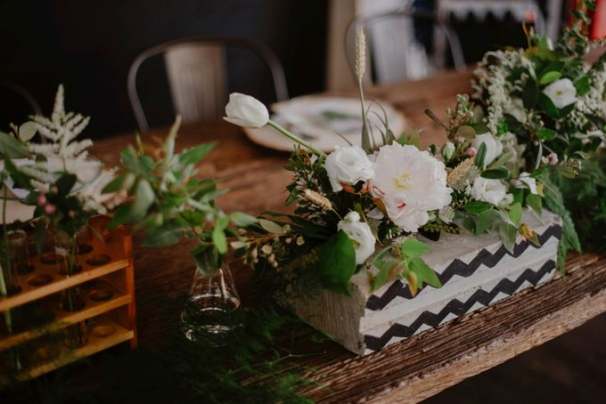 Lovely Industrial Backdrop Styled Shoot by LITTLE ISLAND BREWING CO. - 007