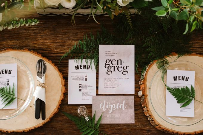 Lovely Industrial Backdrop Styled Shoot by LITTLE ISLAND BREWING CO. - 009