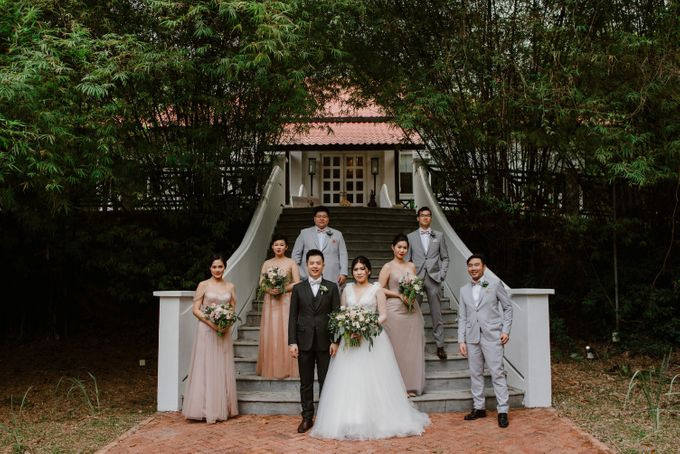 Rustic White Wedding of Astrina Chandra by With Every - 011