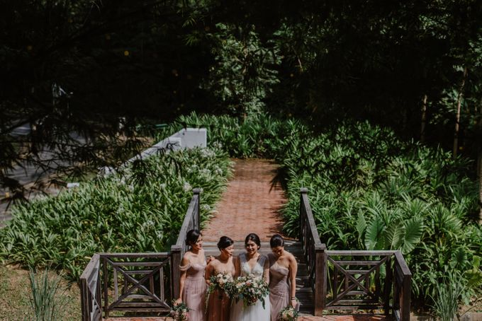 Rustic White Wedding of Astrina Chandra by With Every - 013