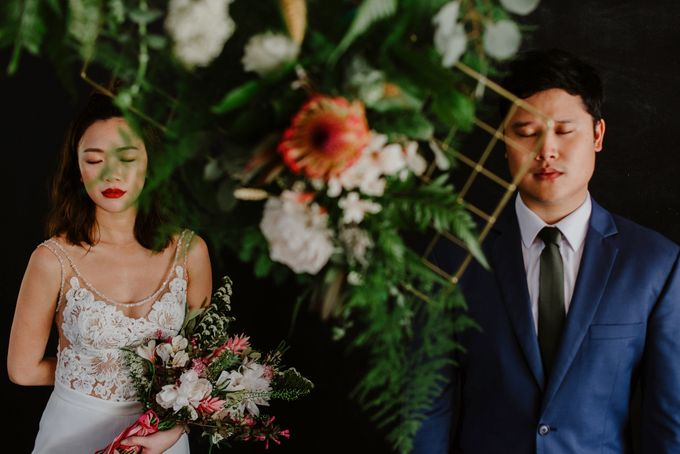 Lovely Industrial Backdrop Styled Shoot by Caramel & Co. - 014