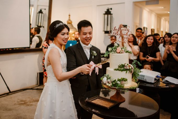 Rustic White Wedding of Astrina Chandra by With Every - 004