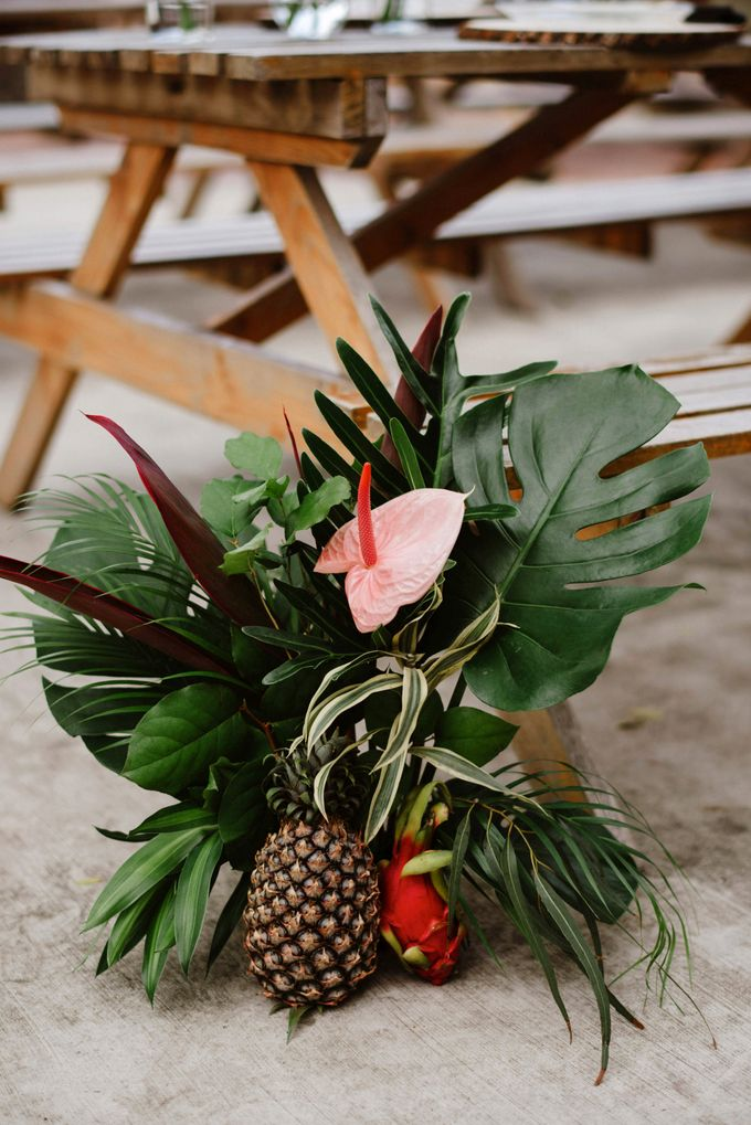 Lovely Industrial Backdrop Styled Shoot by LITTLE ISLAND BREWING CO. - 021