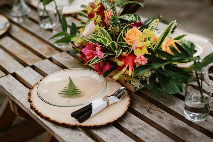 Lovely Industrial Backdrop Styled Shoot by LITTLE ISLAND BREWING CO. - 025