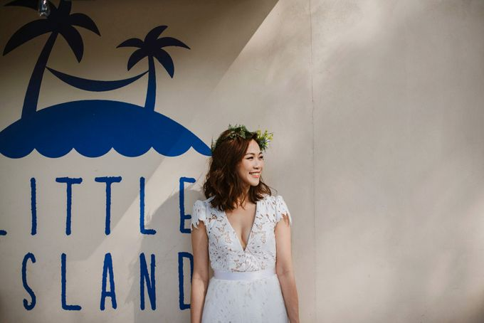 Lovely Industrial Backdrop Styled Shoot by LITTLE ISLAND BREWING CO. - 028