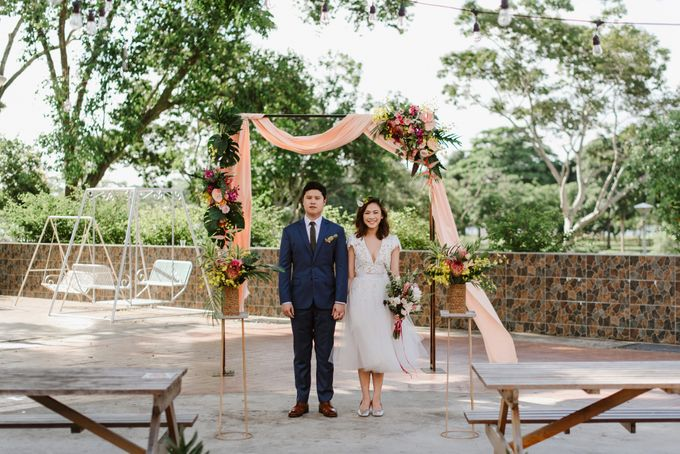 Lovely Industrial Backdrop Styled Shoot by LITTLE ISLAND BREWING CO. - 029