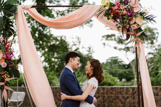 Lovely Industrial Backdrop Styled Shoot by LITTLE ISLAND BREWING CO. - 031