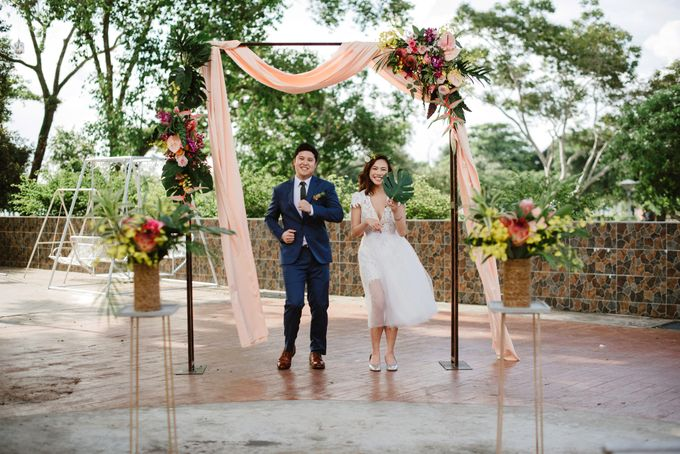 Lovely Industrial Backdrop Styled Shoot by LITTLE ISLAND BREWING CO. - 032