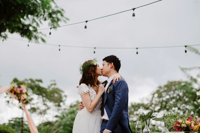 Lovely Industrial Backdrop Styled Shoot by LITTLE ISLAND BREWING CO. - 035