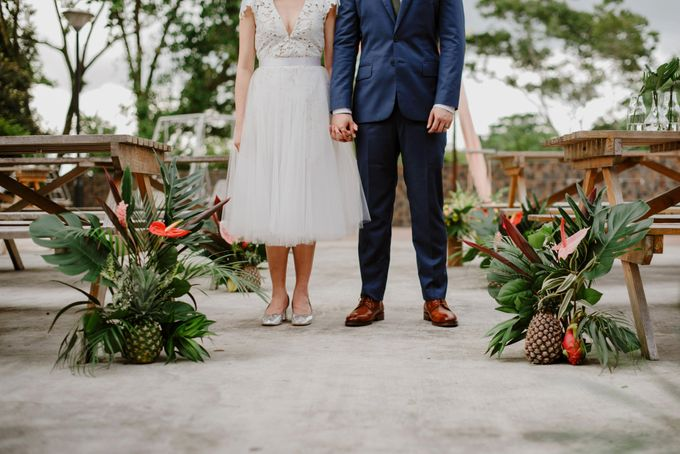 Lovely Industrial Backdrop Styled Shoot by LITTLE ISLAND BREWING CO. - 036