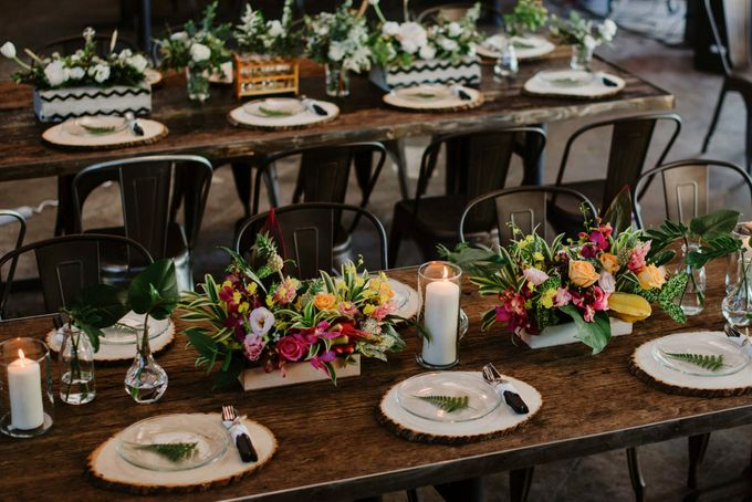 Lovely Industrial Backdrop Styled Shoot by LITTLE ISLAND BREWING CO. - 037