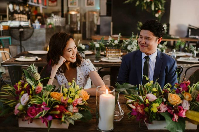 Lovely Industrial Backdrop Styled Shoot by LITTLE ISLAND BREWING CO. - 038