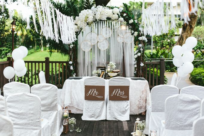 A White Rustic Wedding For Vernon and Jayne by MerryLove Weddings - 001