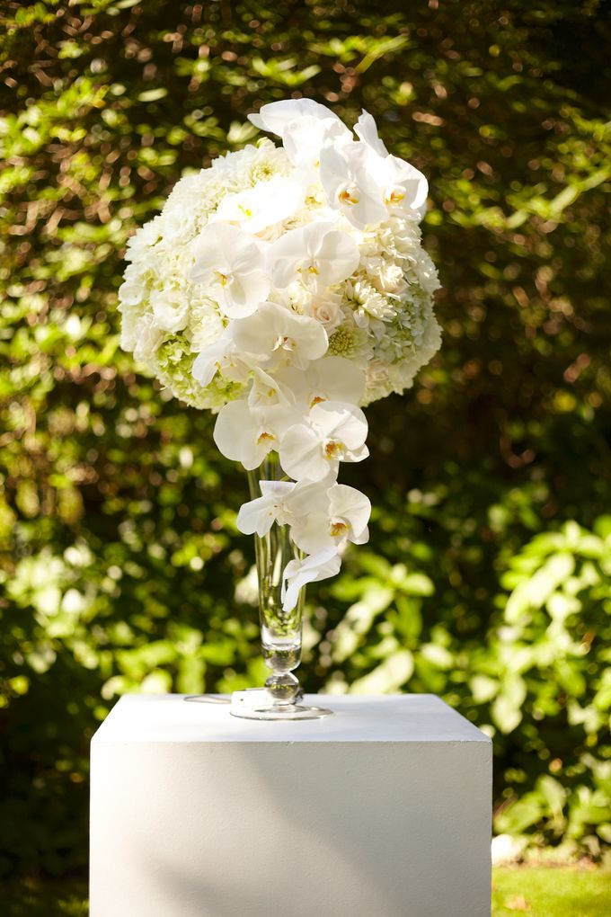 Ceremony and Reception by Affair with George  Florals & Event Styling - 022