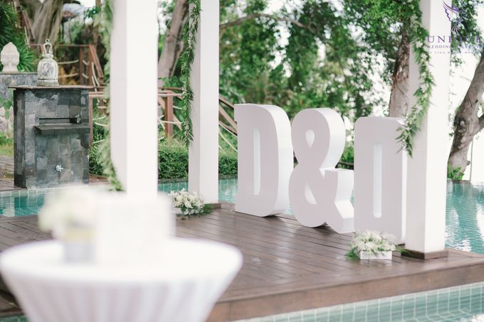 Destination Villa Wedding of David and Olena by Unique Wedding and Events - 006