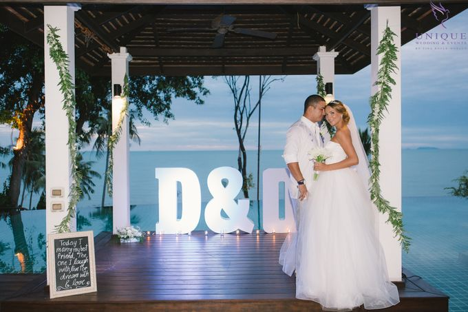 Destination Villa Wedding of David and Olena by Unique Wedding and Events - 022