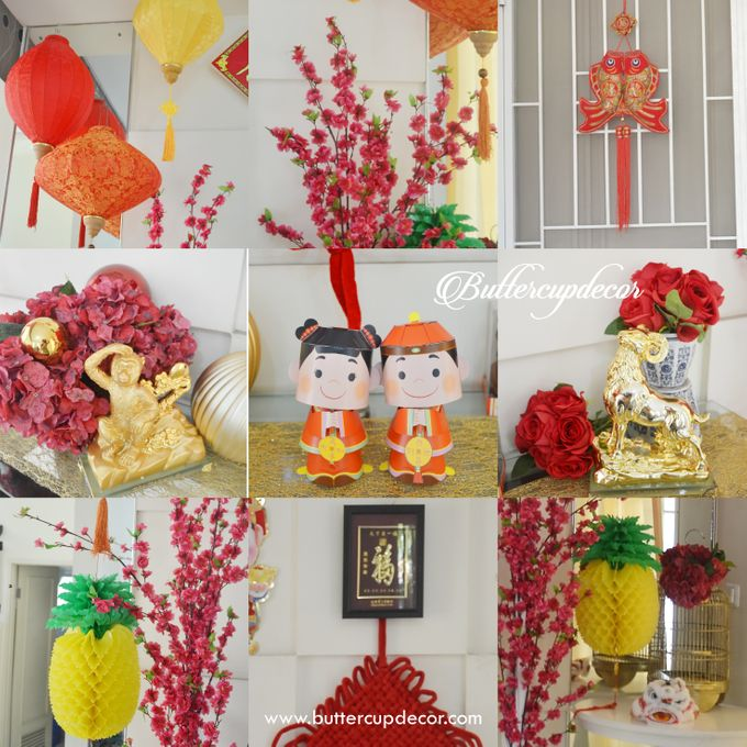 Chinese New Year Home Decor By Buttercup Decoration Bridestory Com