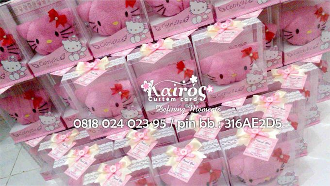 Hampers & Souvenirs by Kairos Wedding Invitation - 002
