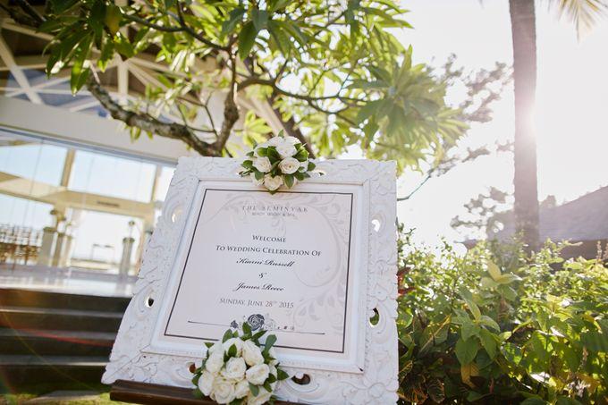 Kiarni & James Wedding by The Seminyak Beach Resort & Spa - 002