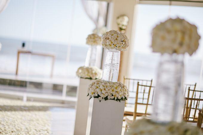 Kiarni & James Wedding by The Seminyak Beach Resort & Spa - 005