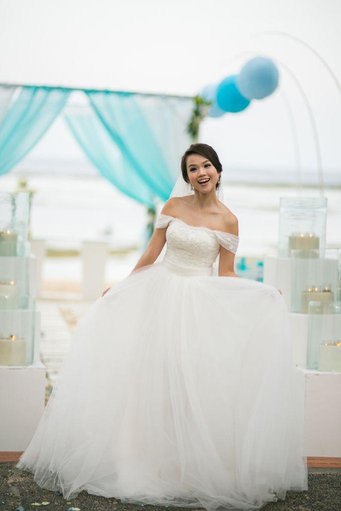 Hazel & Eric Wedding at The Westin Bali by The Westin Resort Nusa Dua, Bali - 004