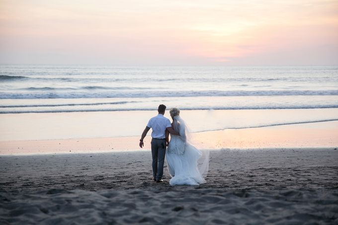 Wedding Ceremony and Dinner Reception by The Seminyak Beach Resort & Spa - 007