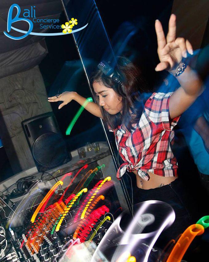 Female DJ Performance by Bali Concierge Services - 004
