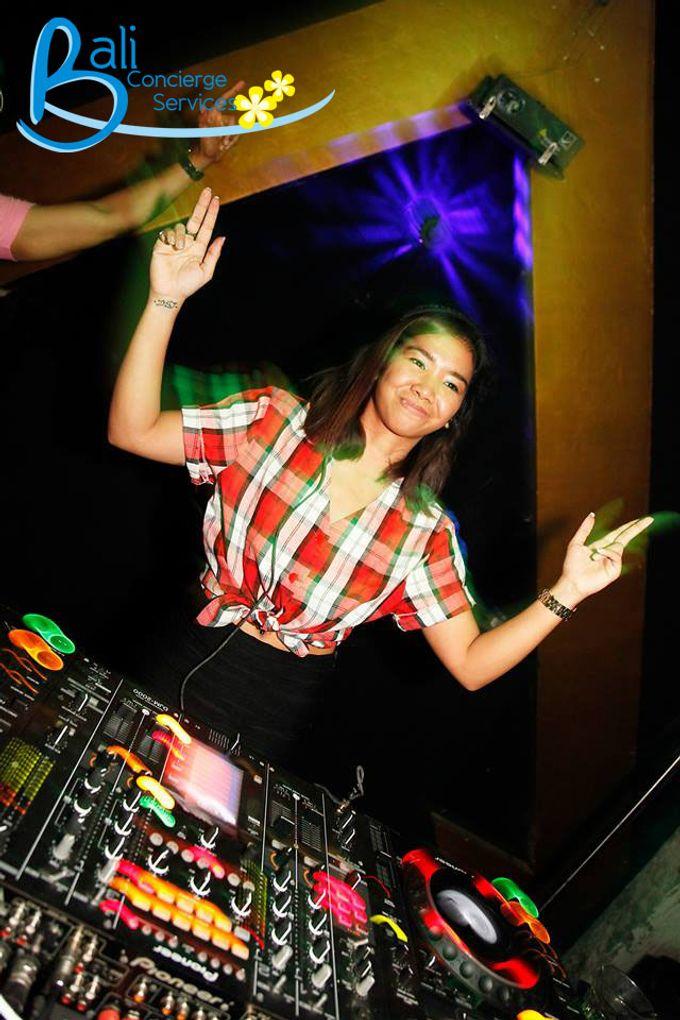 Female DJ Performance by Bali Concierge Services - 001