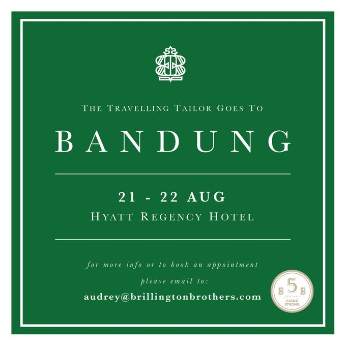 Brillington travelling to Bandung by Brillington & Brothers - 001