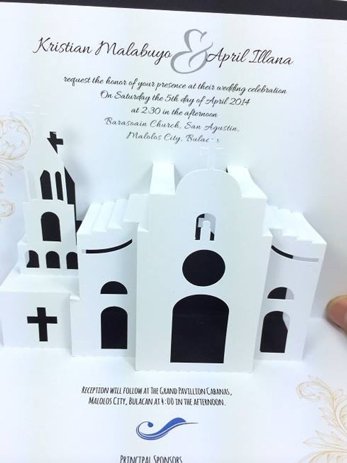 Pop Up Church Invitation by Pop Up Occasions - 001