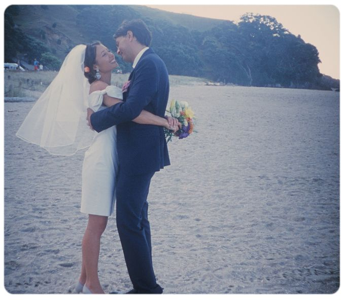 Wedding on the beach in New Zealand by Stereo Photo Album - 006