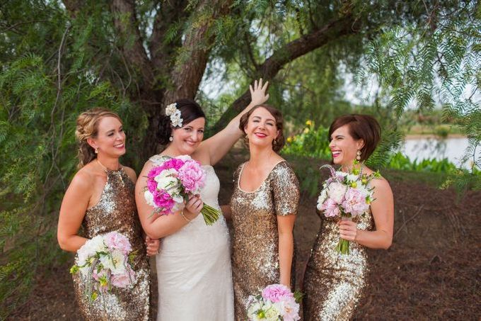 Old Glamour Wedding by Wild Blossom Flowers - 002