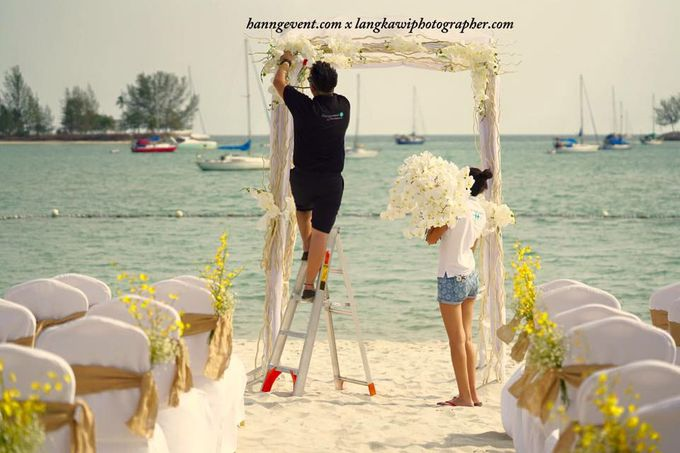 Ben & Laura Gorgeous Wedding at The Danna Resort Langkawi by PETER TAN Photography - 017