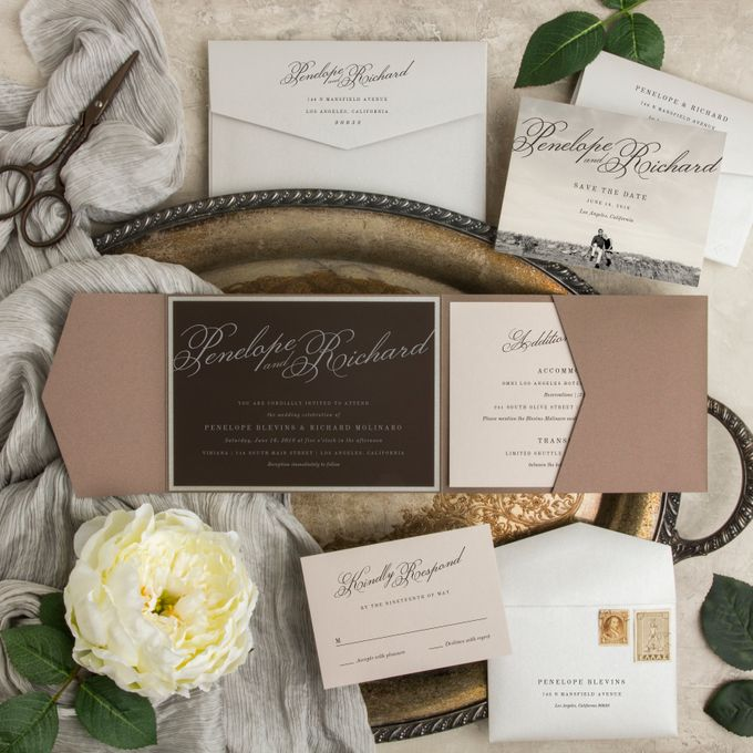 New Wedding Designs by Paper Pressed  - 007