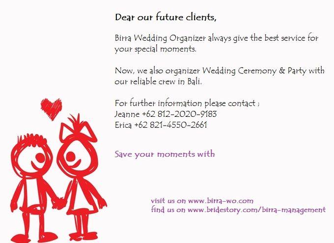 Birra Wedding Organizer by Birra Management - 001