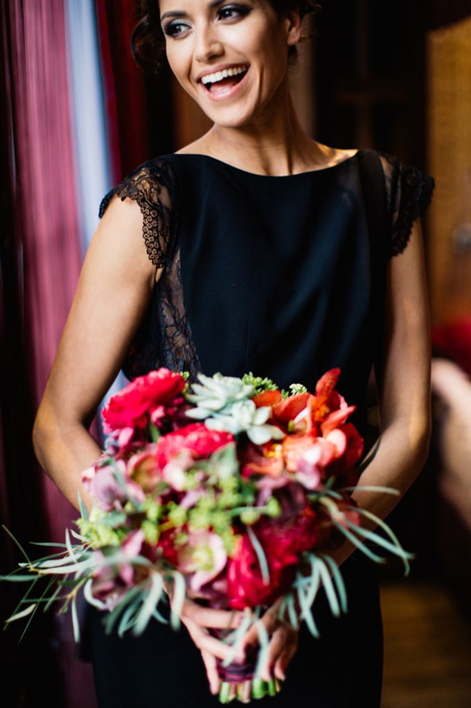 Sultry Marsala Wedding Inspiration by Tony Gigov Photography - 005